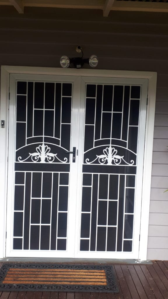 Federation style entry door